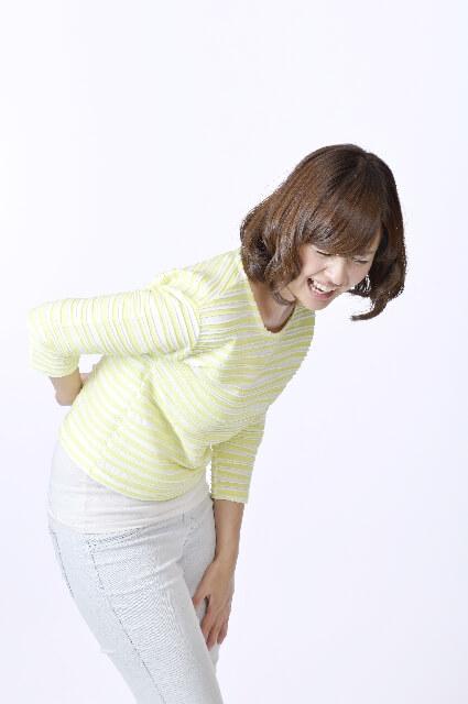 尾骨の痛みのイメージ画像